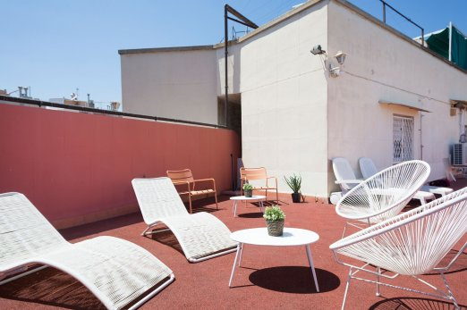 Sunny Attic with Terrace and City Views - Barcelona