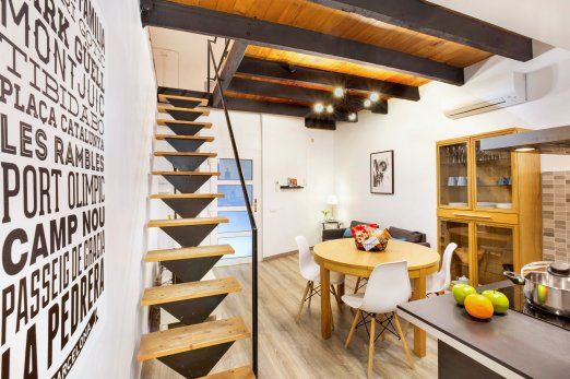 3 bedroom duplex in heart of Gracia - Barcelona