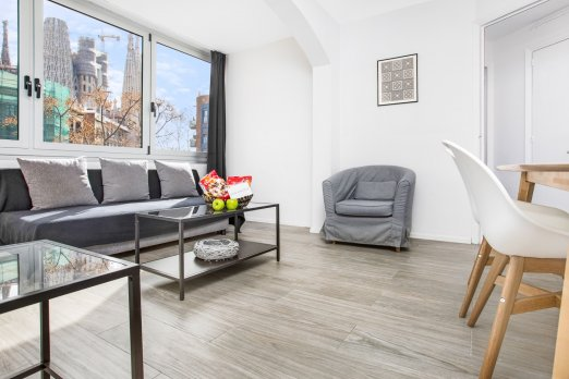 Bright & Stunning Flat W/ Sagrada Familia Views - Barcelona
