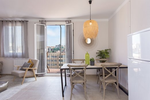 (BA35AT)BARCELONA| STYLISH ATTIC FOR FOUR WITH CITY VIEWS - Barcelona