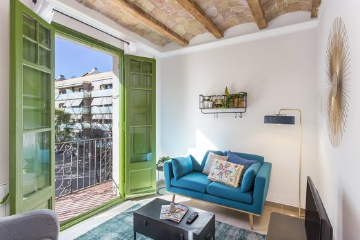BARCELONA|STYLISH AND BRIGHT APARTMENT WITH BALCONY - Barcelona