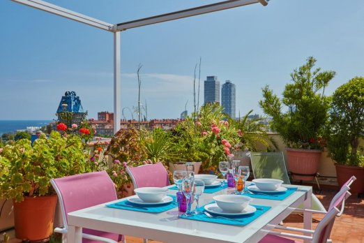 Modern Recently Renovated Penthouse - Barcelona