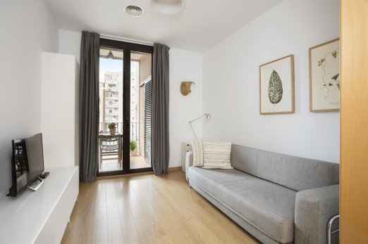Lovely 1 bedroom apartment in Eixample with balcony - Barcelona