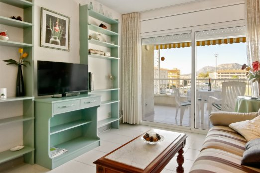 Lovely apartment for 4 with pool and parking - Barcelona