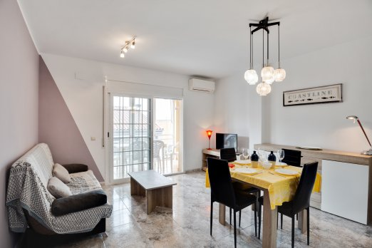 Luminous apartment in the center of Roses - Barcelona