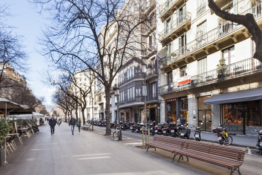 Flat on Rambla de Catalunya with Casa Battló View - Барселона